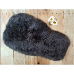 Universal Dark Grey Long Wool Sheepskin Liner