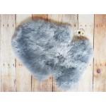Stokke Silver Grey Long Wool Sheepskin