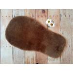 Universal Minky Brown Shorn Wool Sheepskin Liner
