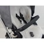 Universal Silver Grey Shorn Wool Sheepskin Liner