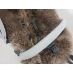 Stokke Minky Brown Long Wool Sheepskin Liner